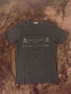 Mastermind Japan Kenshu Limited Edition T Shirt Givenchy Kenzo Versace   eBay