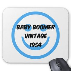 Baby boomer vintage 1954 shirts, tshirts and gifts for baby boomers who were born in 1954. Unique and fun baby boomer gifts for birthdays, retirement parties or any occasion.