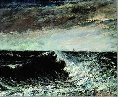 Gustave Courbet - The Wave