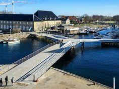 Il Butterfly Bridge a Copenaghen di Dietmar Feichtinger