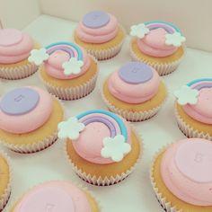 Rainbow Cupcakes by Breezy's Cakes www.breezyscakes.com.au