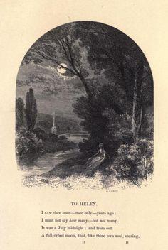 Myles Birket Foster: Illustrations for `The Poems of Edgar Allan Poe´