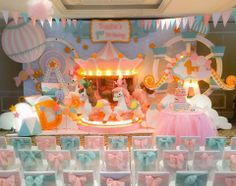 Party Inspirations: Carousel Party by Dreamflavours Celebrations Party & Favours