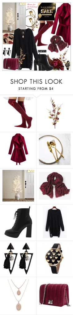 """""""Zaful: Black Friday and Biggest Sale"""" by tattooedmum on Polyvore featuring Pier 1 Imports, White House Black Market, contestentry and zaful"""