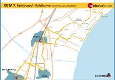 Metrovalencia - Bicimetro - Muslim Marsh