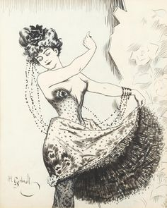 Illustrated Ladies (monsieurleprince: Henri Gerbault (1863 - 1930) -...)