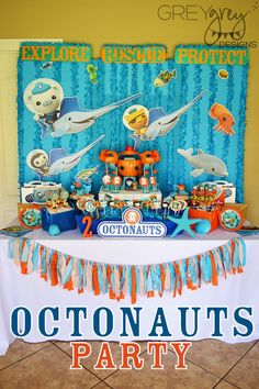 GreyGrey Designs: {My Parties} Octonauts Party with Birthday Express