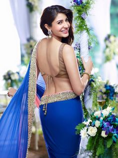 Bollywood popular actress Anushka Sharma best picture and wallpaper gallery. Best hd image of actresss Anushka Sharma. Beautiful Bollywood Actress, Beautiful Indian Actress, Beautiful Actresses, Blouse Back Neck Designs, Blouse Designs, Blouse Patterns, Indian Celebrities, Bollywood Celebrities, Foreign Celebrities