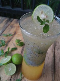 Perfect combination for summer! From passion fruit, mint, lime and basil :)  Follow our:  Instagram - Tarbantin Dining House  Twitter - @tarbantindining  Tumblr - tarbantindininghouse  Like FB Page - Tarbantin Dining House www.tarbantindininghouse.com