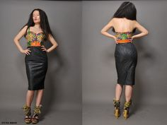African Style- using mola fabric