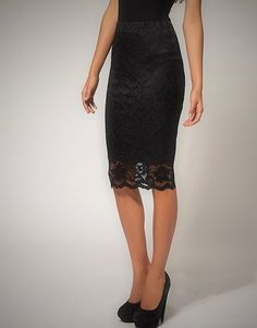 3 4 Sleeve Lace Overlay Cocktail Dress Black By Rickie