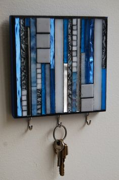 Mosaic key storage idea
