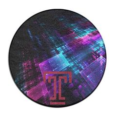 ASCHO2 Temple University T Logo Indoor Outdoor Round Carpet Floor Mat - 2 Feet - Brought to you by Avarsha.com