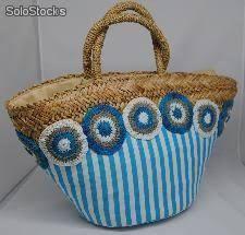 Resultado de imagen para capazos decorados con crochet
