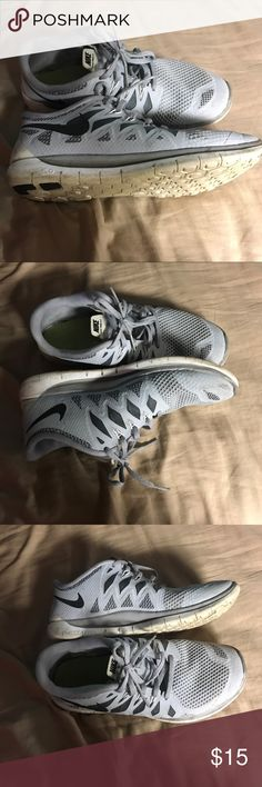 Nike free run Worn a couple times during soccer season Nike Shoes Sneakers