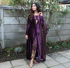 email sajsacouture@gmail.com for this royal velvet ensemble