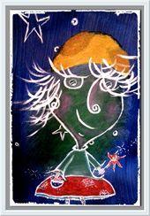Antoinette | Drawings & Illustration, Paintings & Prints | ArtPal