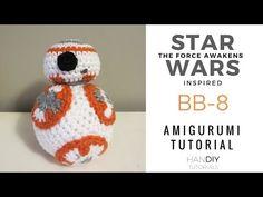 Tutorial Estrella Amigurumi Star : 1000+ images about Star Wars crochet amigurumis on ...