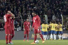 A Milli Futbol Takımı, 58 yıl aradan sonra İstanbul'da konuk ettiği Brezilya'ya 4-0 yenildi.