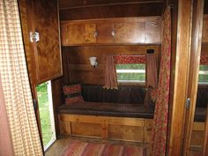 Restored vintage Yellowstone trailer