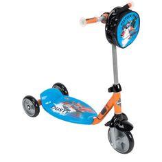 Huffy Disney Planes Fire and Rescue 3-Wheel Preschool Scooter, Multicolor