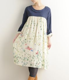 Picnic Clover Print Dress -  Super Hakka