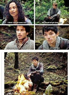 Merlin-the awkward fourth weel who ships Gwen with Lancelot and Aurther but mainly Aurther.
