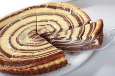 Simple sour cream Cake Zebra