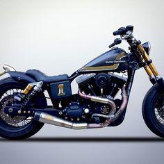Street bob Harley-Davidson: