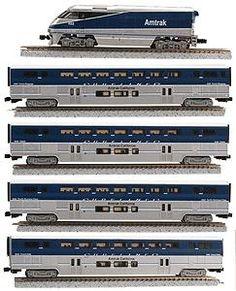 model train sets   ... Amtrak Surfliner - Z-Scale (amz7002) Z-Line Z Scale Model Train Sets
