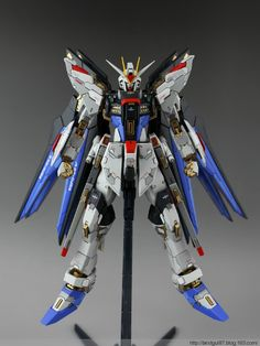 MSB 1/100 Strike Freedom customized build - Gundam Kits Collection News and Reviews