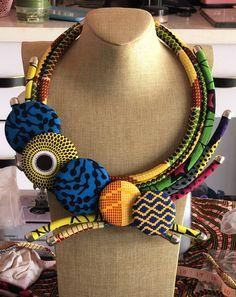 Classic African Print Jewellery Bracelet Earrings Set Ankara Kitenge