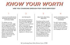 Know Your Worth: Are You Charging Enough for Your Services? // Brittney Castro, CFP® // Financially Wise Women
