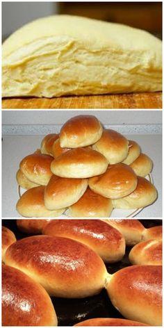 Воздушные пирожки буквально за несколько минут! Good Food, Yummy Food, Valentines Day Food, Cooking Recipes, Healthy Recipes, Turkish Recipes, Bread Baking, Hot Dog Buns, Snacks