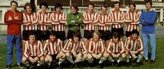 Southampton football club photo from 1976
