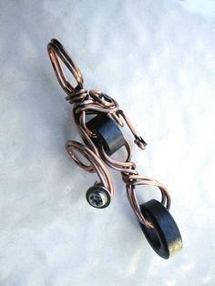 Geek Chic Upcycled Copper & Computer Parts by SoBayBaubles on Etsy, $9.00