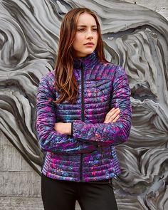 Women's Microtherm® Stormdown® Jacket - Print | Eddie Bauer