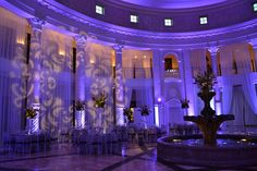Pretty Purple Wedding at the Westin Colonnade of Coral Gables  Production by EVoga Events www.evogaevents.com