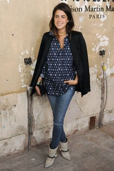 Leandra Medine at H's Maison Martin Margiela launch in October.