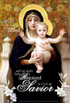 The Magnificat of Our Lady.
