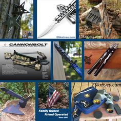 Extremely-Sharp.com is a family owned business specializing in edged items, throwing knives, pocket knives and survival knives. Tons of knife brands from Gerber, Boker, CRKT, Hibben, Smith and Wesson to Case XX.