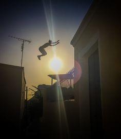 Jumpin' the sun... Using burst mode to good effect #Santorini #Greece #photo #phototour #Thera #blue #iphone #parkour #wishyouwerehere #phonetography #phonetographytour #discoverGreece #I_love_Greece #island_life #summer #shotwithiphone #phone #instagraphy #bucketlist #mobile #instapic #landscape #travel_photography #burstmode