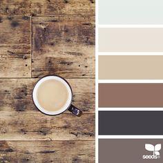 Ideas for kitchen colors schemes ideas design seeds Design Seeds, Colour Pallete, Color Combos, Paint Combinations, Kitchen Colour Schemes, Rustic Color Schemes, Warm Kitchen Colors, Rustic Color Palettes, Rustic Colors