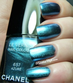 Chanel Azure 657 - Swatches and Review | Pointless Cafe
