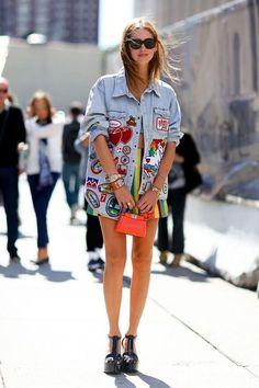 Pinterest : 25 looks qui nous donnent envie d'adopter un jean brodé   Glamour