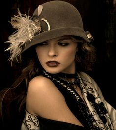 §§º§§ Marzi Designer Ladies Hats - Fall/Winter Collection Moda Retro, Stylish Hats, Gatsby Style, Fancy Hats, Glamour, Love Hat, Madame, Hats For Women, Ladies Hats