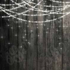 Rustic Christmas Lights Background | Item Details