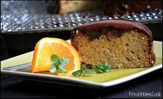 Whole Orange & Chia Seed Cake with Coconut Cream Ganache