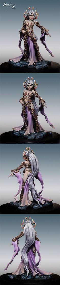 Shaeress Nashanneth, Dark Elf Queen