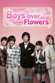 Boys over Flowers. My first Korean drama ever and I loved it! I was reluctant to watch something Korean but this left me amazed because I didn't know that Korean shows are so cute, innocent, dramatic and sweet. This one is foremost a love story but also about friendship. ALERT! EYE CANDY! Korean boys are beautiful. Who knew this drama would start my Korean addiction.